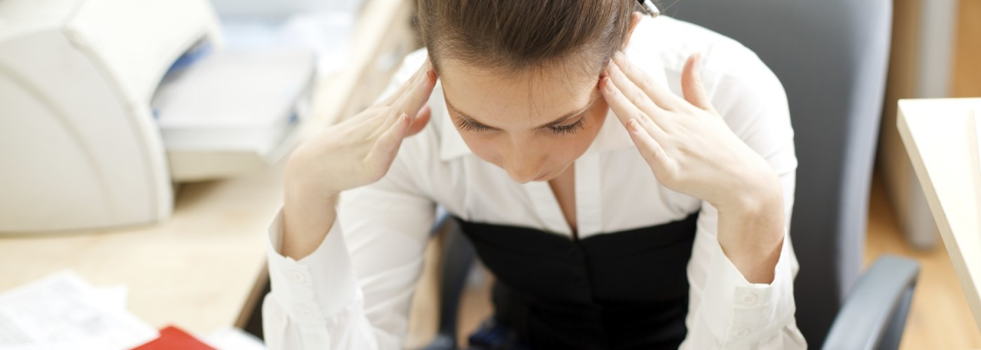 frustration woman